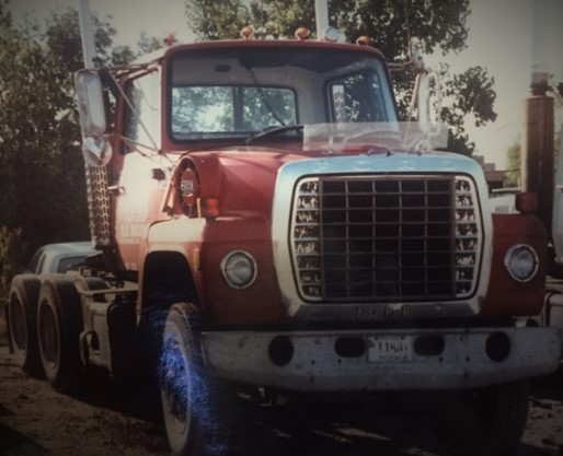 OLD Hartwig Truck